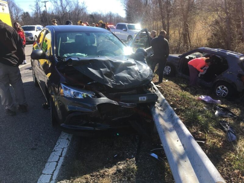 Eight Injured and One Flown to Area Trauma Center After Motor Vehicle Collision in Sunderland