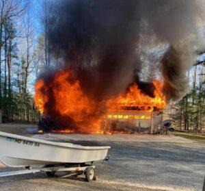 Garage Fire in Leonardtown Under Investigation, No Injuries Reported