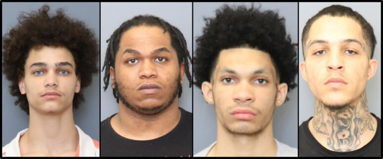 Detectives Arrest Four Suspects Involved in October Armed Robbery at Convenience Store, Multiple Illegal Firearms Recovered During Search Warrant
