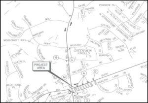 Buck Hewitt Road Utility Work to Affect Traffic Beginning Thursday, April 1, 2021