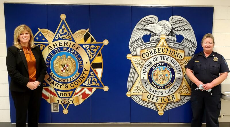 St. Mary's County Sheriff's Office Highlights Two Employees for Women's History Month
