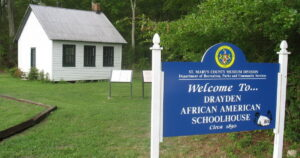 Drayden African American Schoolhouse Offers Free Monthly Open House