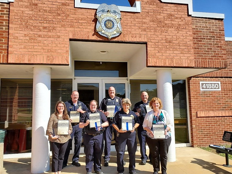 Sheriff's Office Recognizes Employees for Excellence in 2019