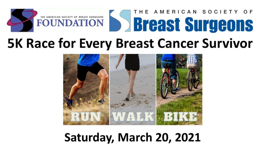 March 20th Virtual 5K and Concert to Support Breast Cancer Survivors and Fund Research