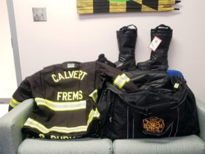 Calvert County Department of Public Safety Purchases New Firefighter Gear, PPE, and Other Needed Supplies with FEMA Grant Funds