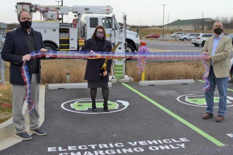 SMECO Electric Vehicle Charging Station Now Available in Leonardtown