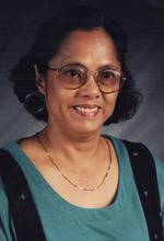 """Adoracion A. Cayanan, """"Dorie"""", 74"""