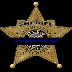 Calvert County Sheriff's Office Statement Regarding Death of Off-Duty Deputy