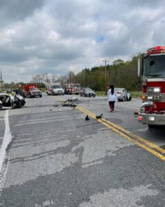 Police Investigating Serious Motor Vehicle Collision in Port Tobacco, Two Flown to Trauma Centers