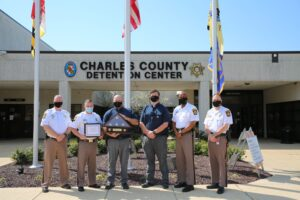 Corporal Justin Davis Named Charles County Detention Center 2020 Correctional Officer of the Year