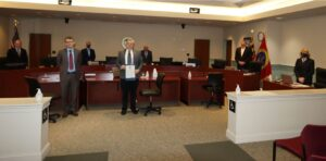 St. Mary's County Commissioners Present Proclamation to St. Mary's County Bar Association