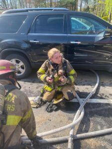 Firefighters Save Dog After Townhouse Kitchen Fire in Waldorf