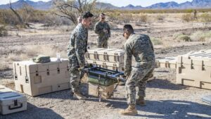 Marines Get First Look at Tactical Resupply Unmanned Aircraft Systems During Field Assessment