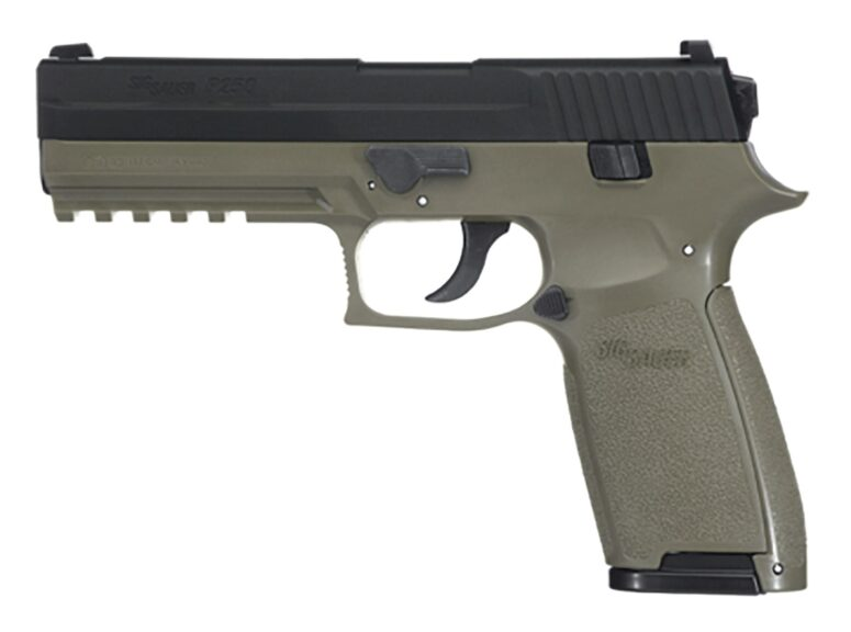 Stock photo of the air soft pistol recovered at the scene