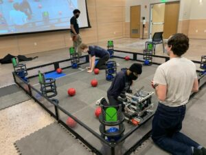 CSM's Robotics Team, the Talons, Are Back in Business at Skills Tournament