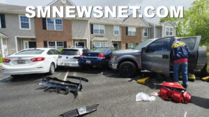 Medical Emergency Leads to Six Vehicles Damaged in Great Mills