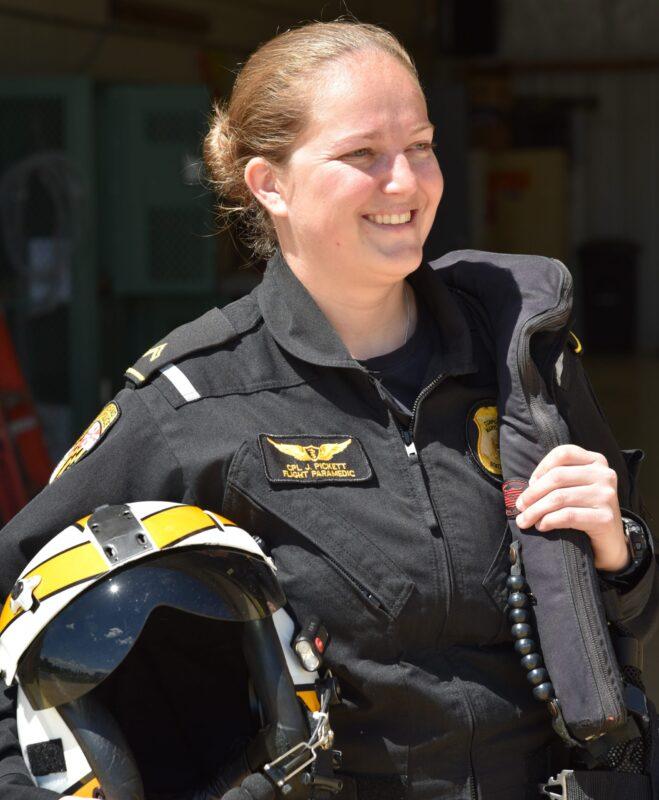 Flight Paramedic Cpl. Pickett