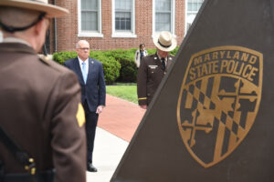 PHOTO RELEASE: Governor Hogan Honors Maryland State Police Fallen Heroes