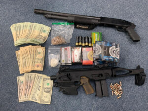 Traffic Stop and Search Warrant Leads to One Arrest, Large Amount of Drugs, and Two Firearms Recovered in Glen Burnie