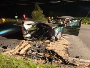 UPDATE: St. Mary's County Sheriff's Office Investigating Head-on Collision in Leonardtown That Sends Chaptico Woman to Trauma Center