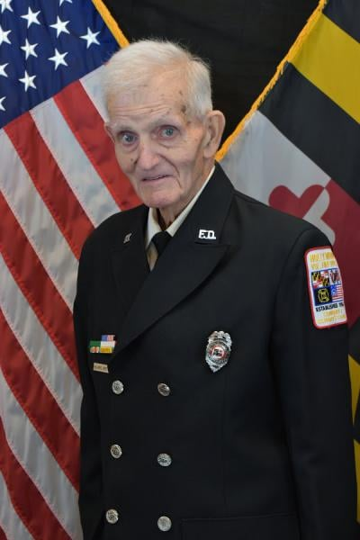 """Hollywood Volunteer Fire Department Regrets to Announce Passing of Charter Member William """"Bill"""" Jones, 92"""