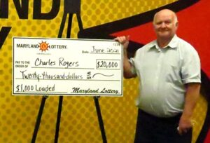 St. Mary's County Man 'Went Nuts' After Luck-Loaded Lottery Win