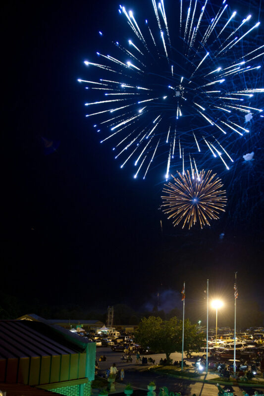 The Town of Chesapeake Beach Cancels Fireworks Display