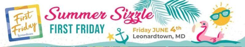 Leonardtown First Friday Event on June 4