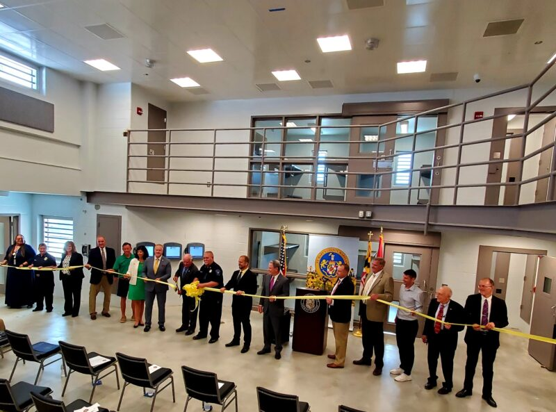 VIDEO: Completion of St. Mary's County Detention Center's New Wing Celebrated