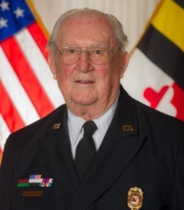 """Hollywood Volunteer Fire Department Regrets to Announce Passing of Charter Fire Chief William Joseph Huseman, Sr. """"Billy"""", 100"""