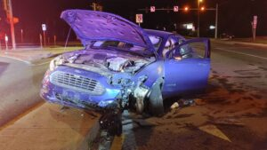 One Injured After Single Vehicle Collision in Great Mills