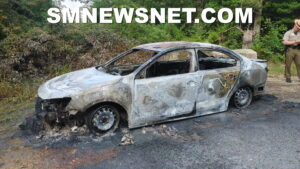 Maryland State Police and Fire Marshal Investigating Vehicle Fire in Lexington Park