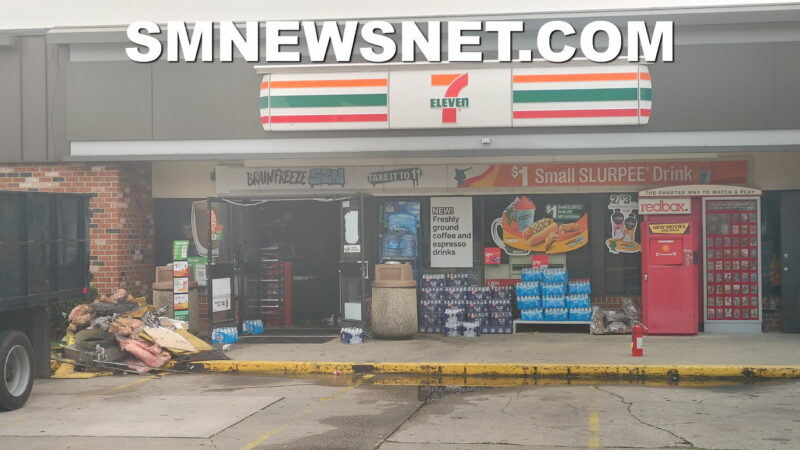 UPDATE: Police Investigating Robbery and Firebombing of Mechanicsville 7-Eleven, No Injuries Reported