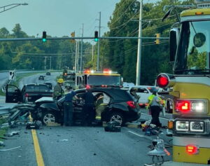 Police in Calvert County Investigating Fatal Motor Vehicle Crash in Huntingtown