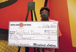 Calvert County Man Wins $50,000 Top Prize on Deluxe Crossword Scratch-Off