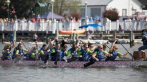 5th Annual Solomons Dragon Boat Festival Takes to the Water