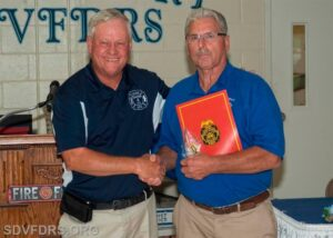 Valley Lee Volunteer Fire/Rescue Squad Life Member Joe Slade Inducted Into Southern Maryland Volunteer Firemen's Association Hall of Fame
