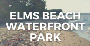Department of Recreation and Parks Park Announces Temporary Closure at Elms Beach Park