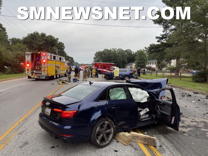 UPDATE: Police in St. Mary's County Investigating Fatal Crash That Killed Two Lexington Park Women
