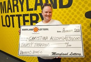 Mechanicsville Woman Wins $30,000 on Scratch-Off at Charlotte Hall Dash In