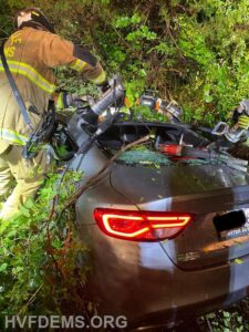One Flown to Trauma Center After Single Vehicle Collision in Benedict