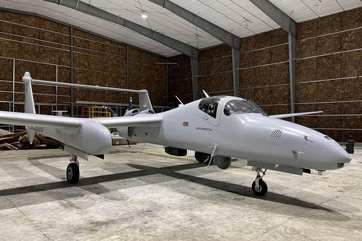 Northrop Grumman New Optionally Manned Firebird Aircraft Makes Stop in St. Mary's County