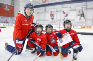 Registration Now Open for Future Caps Learn to Play Program at 17 Area Hockey Rinks