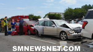 Four Injured After Three Vehicle Collision in California
