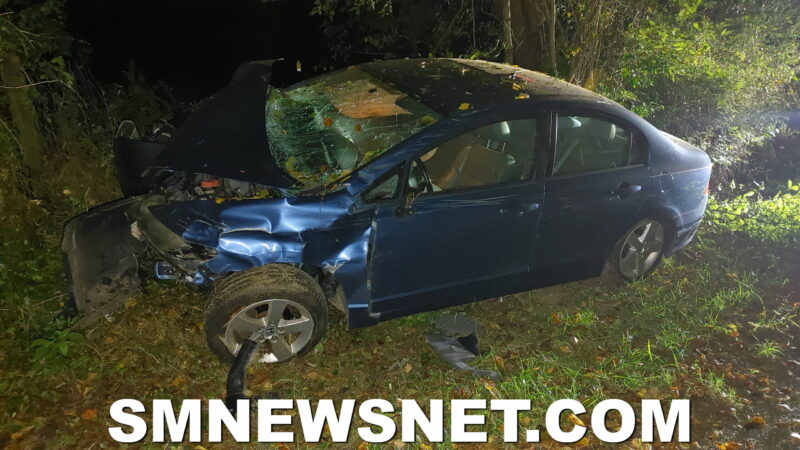 One Injured After Early Morning Motor Vehicle Collision in Lexington Park