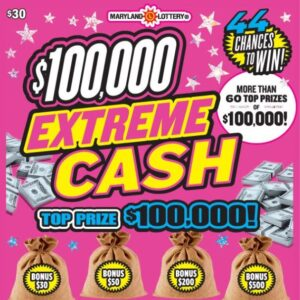 Lucky Lexington Park Man Wins $100,000 on Scratch-Off at St. Mary's County Rod 'N Reel