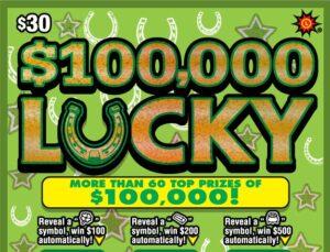 Calvert County Veteran Gets Lucky with Top Win in $100,000 Lucky Game