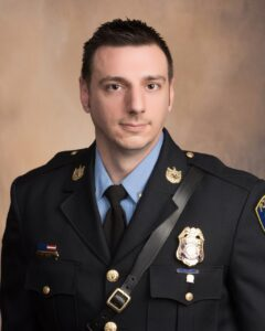 Detective/PFC David Roys Selected as La Plata Police Department's Officer of the Year for 2020