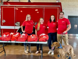 Invisible Fence Donates 30 Life-Saving Pet Oxygen Masks to Volunteer Fire Departments in Calvert County