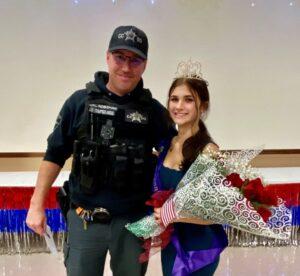 Calvert County Sheriff's Office Explorer Named 'Miss Tranquility'